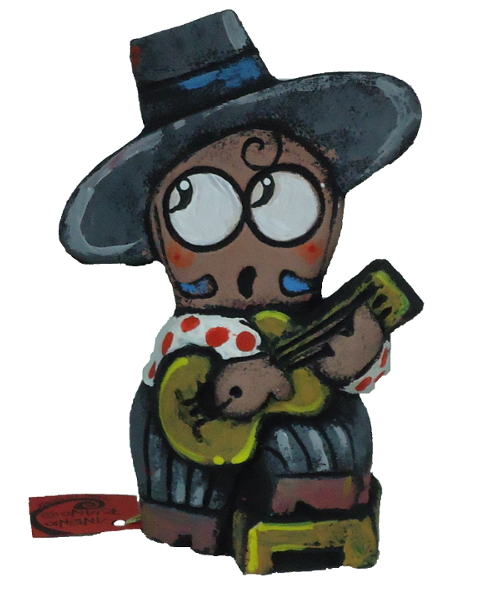 guitarrista ceramica de antonio ruano