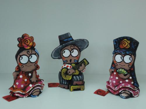 tres figuras antonio ruano