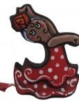 Bailaora cerámica de antonio ruano