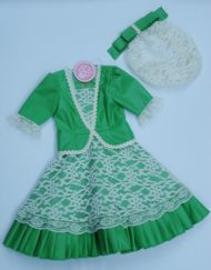 traje goyesco bebe 2 años hispania flamenco