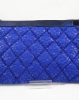 bolso cartera hispania flamenco azul