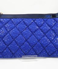 bolso cartera hispania flamenco azul