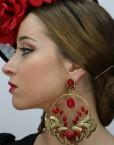 Pendientes Benjamin Sevilla Hispania Flamenco