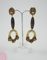 Pendientes lenana hispania flamenco