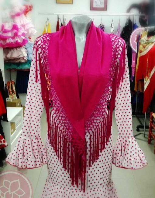 manton en lino hispania flamenco
