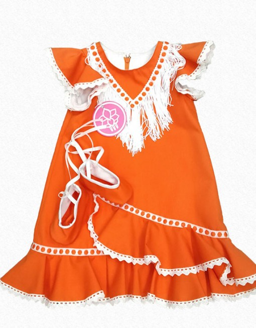 traje flamernca bebe hispania flamenco