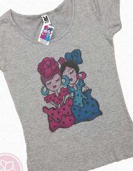 camiseta manga corta camu-camu hispania flamenco