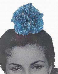 tienda clavel azul turquesa