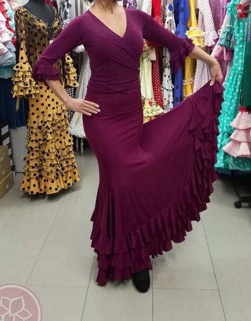 falda ensayo hispania flamenco