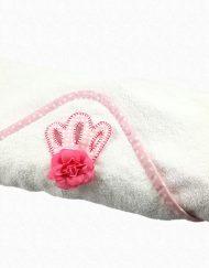 tienda toalla bebe con capucha hispania flamenco
