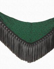 manton verde flecos negros hispania flamenco