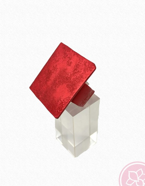 anillo aluminio oana millet hispania flamenco