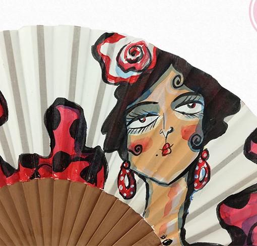 abanicos carmen encinas hispania flamenco