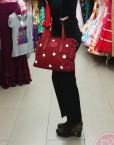 bolso lunares blancos hispania flamenco
