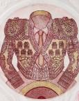 Grabado aguafuerte de Paco Ayala Hispania Flamenco