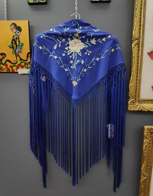 tienda manton estampado azulino 1