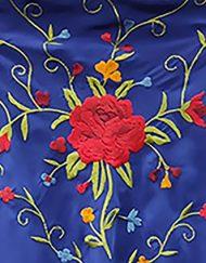 detalle manton estampado azulino 2