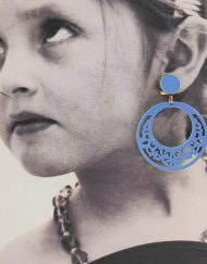 tienda pendiente niña azul ducado