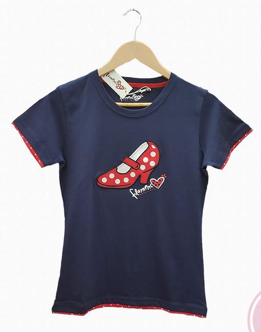 tienda camisetanueva mujer zapato azul