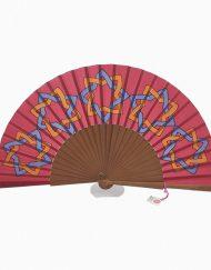 abanico de seda margaret de arcos hispania flamenco