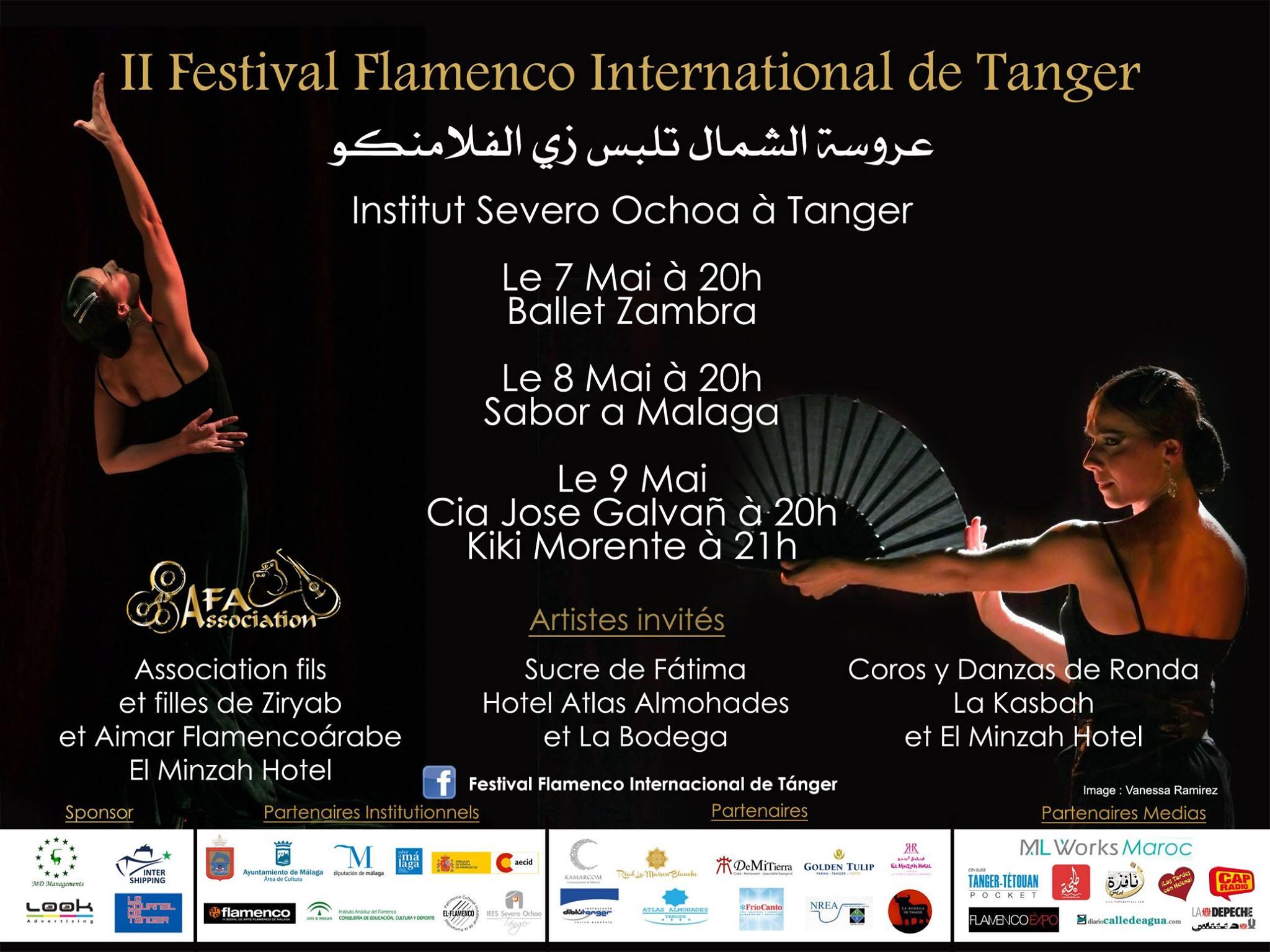 actuacion coros y danzas de ronda en tanger año 2015
