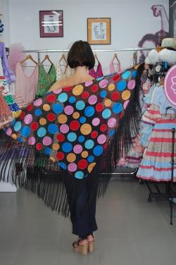 manton flecos hispania flamenco