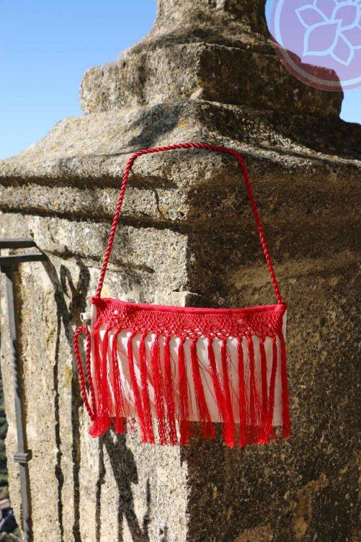 bolso con flecos hispania flamenco