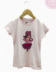 camiseta niña camu camu hispania flamencoispan