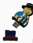 USB de 8GB con forma de muñeco flamenco con pito y tambor. Ahora en oferta a un 50%.