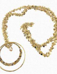 collar dorado carvajal hispania flamenco