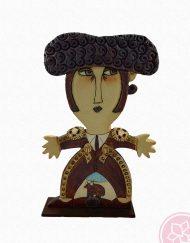 Figura Torero Paz Alvarez e Hispania Flamenco