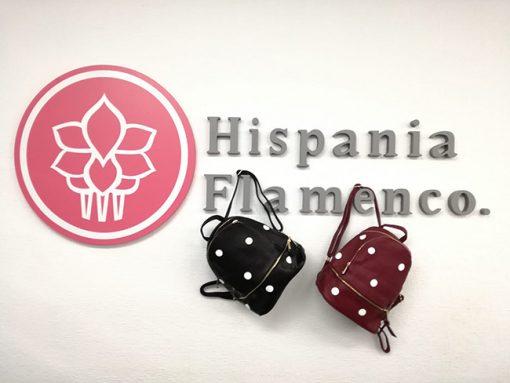 mochila lunares hispania flamenco