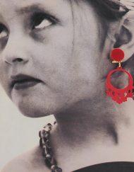 tienda pendiente niña 1 rojo