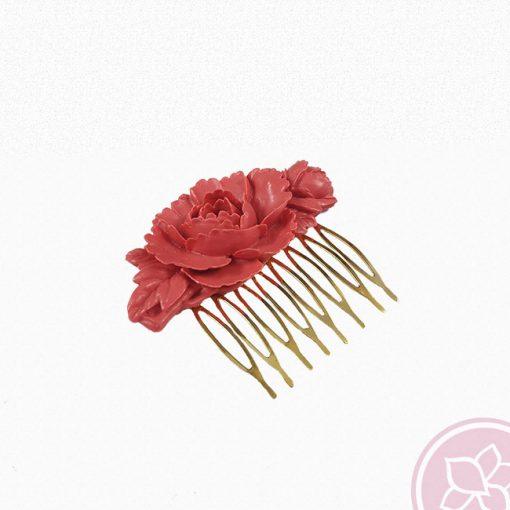 peina resina coral hispania flamenco