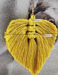 medidas pendiente hilo amarillo