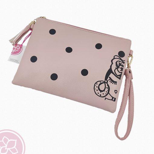 tienda bolso mano rosa bebe