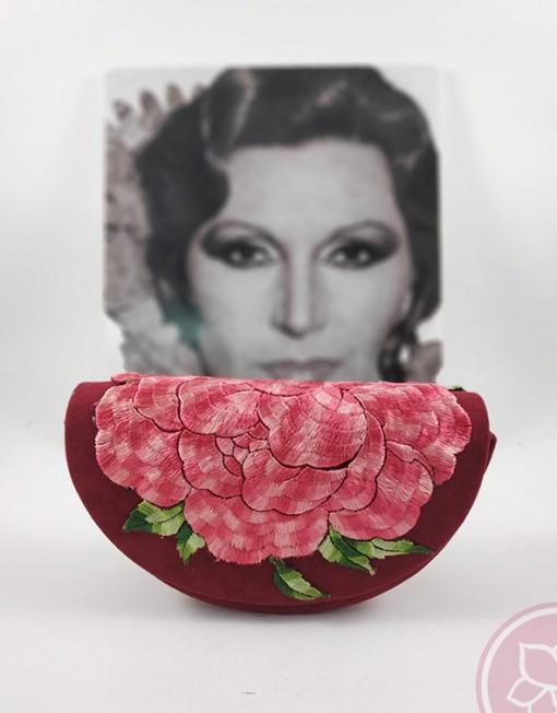 bolso medialuna corinto hispania flamenco