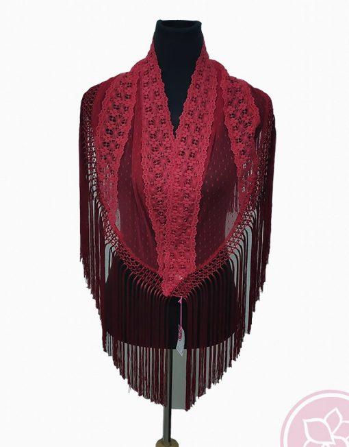 tienda manton rojo plumeti hispania flamenco