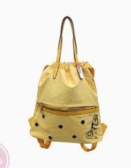 tienda mochila camu camu amarilla
