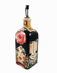 Aceitero ceramica catalina alcaide hispania flamenco