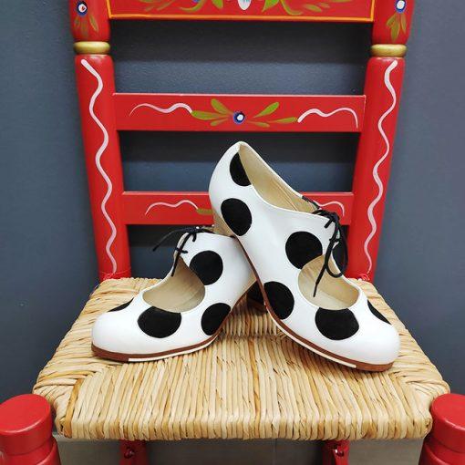 zapatos para baile flamenco Begoña Cervera Hispania Flamenco