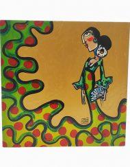 cuadro colección piriñaca de Carmen Encinas Hispania Flamenco