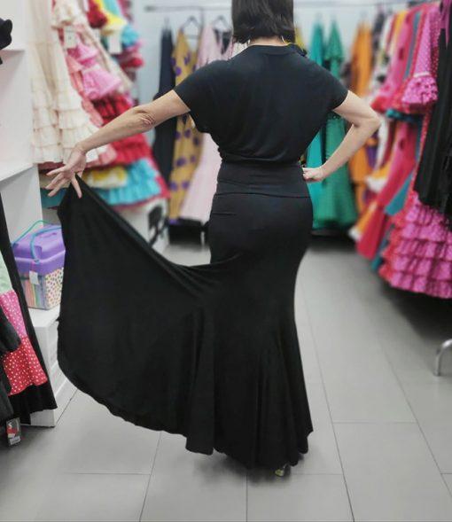 Falda de ensayo modelo galia de artesania Pertiñez Hispania Flamenco