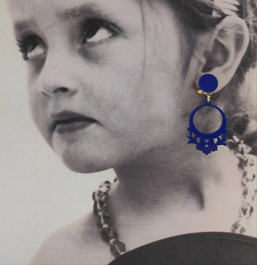 pendiente flamenca niña carvajal