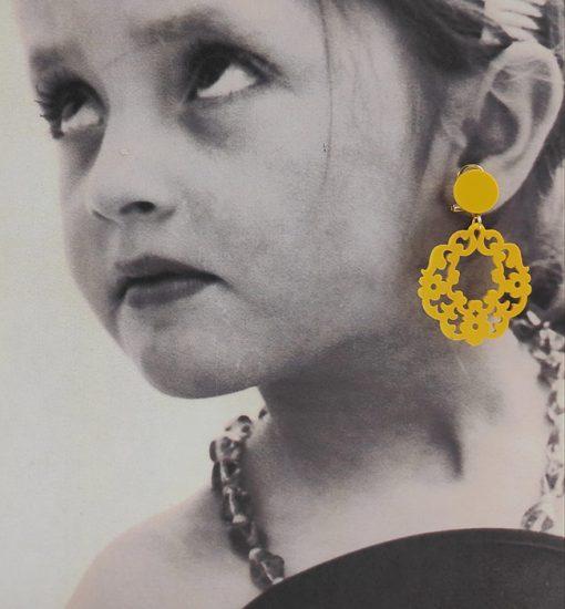 pendiente flamenca niña hispania flamenco