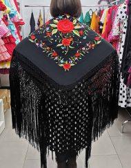 Manton manila para baile hispania flamenco