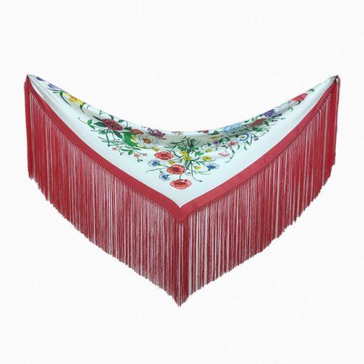 mantoncillo seda varios modelos hispania flamenco