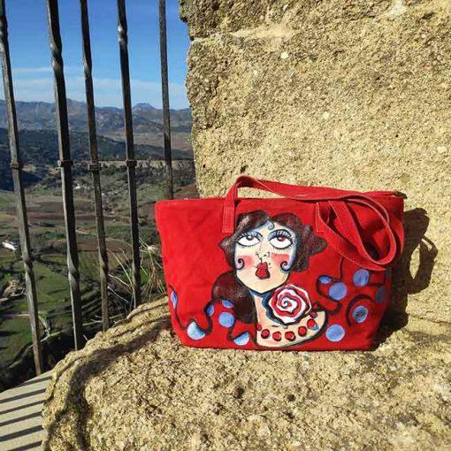 Bolso de carmen encinas hispania flamenco
