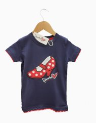 camiseta zapato niña hispania flamenco