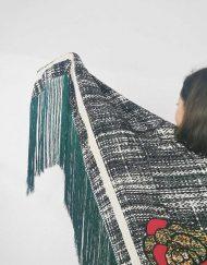 mantones grandes seda artesanal